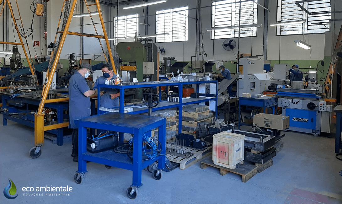 Plano de Gerenciamento de Residuos Solidos (PGRS) - Empresa de Usinagem e Ferramentaria